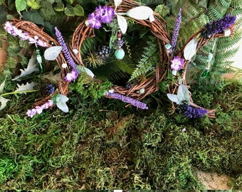 Goddess Wreath Etsy