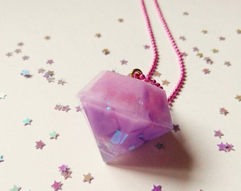 Super Diamond Holographic Necklace