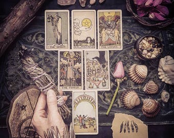 General   Tarot Reading   Artistic Photograph and PDF Included -Sent to your email   Loving   Personal   Intuitive   Psychic   Guidance