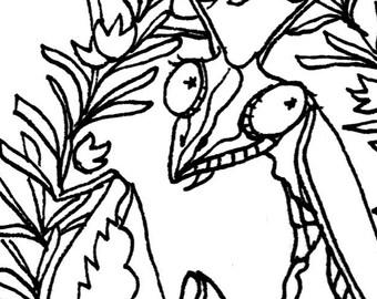 rosemary + mantis