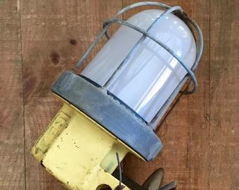 Vintage Caged Barn Lights