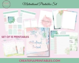 Motivational Printable| Planner Insert| Digital Notebook