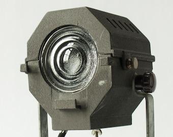Vintage Colortran Film Spotlight - Stage Light - Theatre - Movie - Fresnel