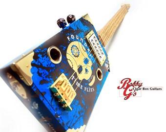 the Skull 3 string guitar