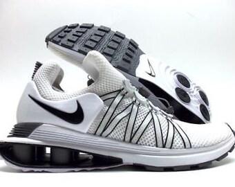 Women s Nike SHOX Gravity Shoes. Brand new in box. White Black-white. Sizes   9 9cc030c0e