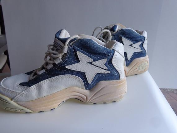 90'S CONVERSE BLUE Kentucky Wildcats Denim Basketball Shoes