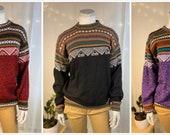 Alpaca Crew Neck Sweaters
