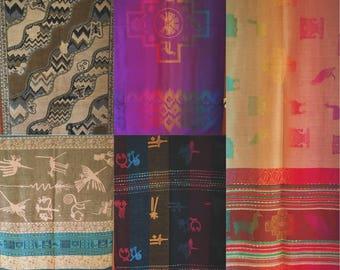 Peruvian Printed Alpaca Scarves