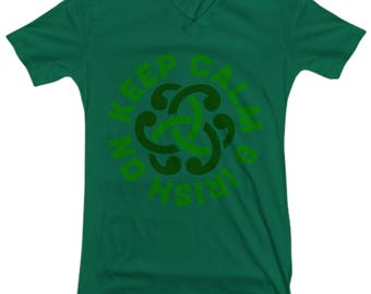 Keep Calm and Irish On T-Shirt
