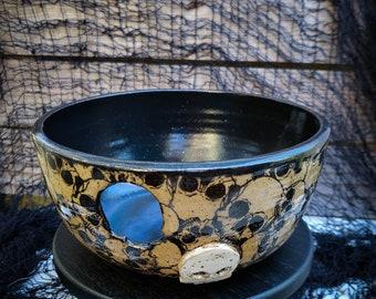 Small yarn bowl - Ceramic bowl - handmade bowl - Ready to ship