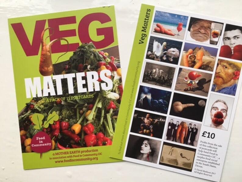 Veg Matters postcard pack image 0