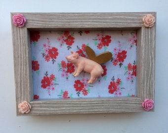 Perdita the flying pig