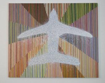 Acrylic painting Exhale