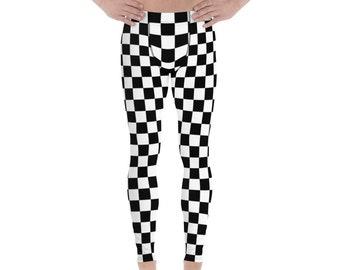 edda2e1cc911c Checked Check Checkered Men's Leggings