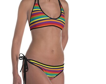 Striped Women's Bikini