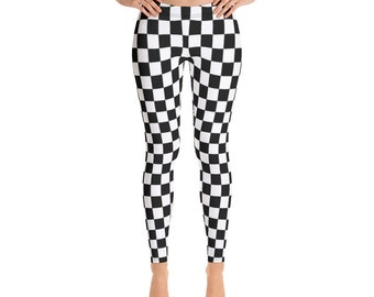 1ee77d8db1c23 Check Checked Checkered Leggings