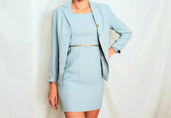 Vintage Blue Set Outfit - Vintage Set - Vintage 2