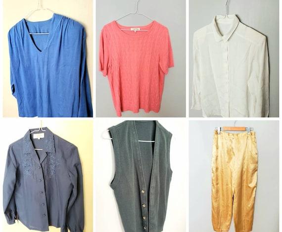 Vintage Clothing Lot Size Medium- 6 piece Clothing