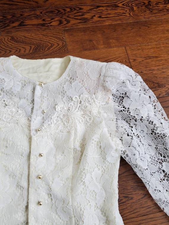 Vintage Victorian Blouse | Victorian Blouse | Size