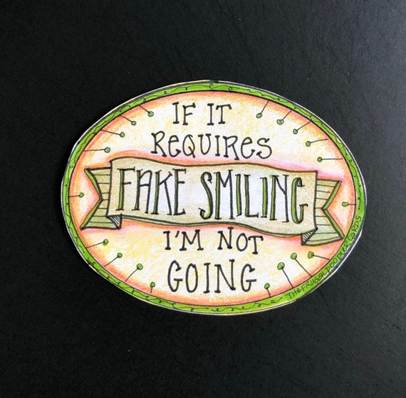 Funny sarcastic snarky life theme magnet Fridge Magnet Magnets school perfect for office fridges and home