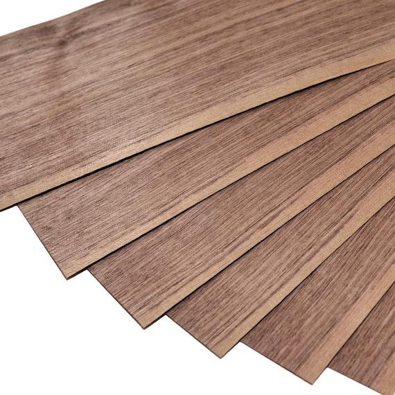 American Walnut Quartered Cut Natural Wood Veneer Set Of 2 4 Or 8 Sheets 11 5 X 6 30 X 16 Cm