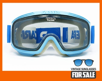 c3f29d1772d06 ULTRARARE vintage Carrera 5041 col. 53 Ski Goggles FULL SET made in Austria  from  80s