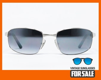 8491ef3b035 RARE vintage sunglasses Cartier T8200490 SANTOS SCREW Decor Mirrored made  in France 2005