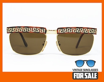 faac624e61f Vintage sunglasses GIANNI VERSACE S 82 col. 14L made in Italy from  80s