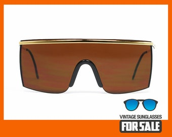 960f06486e Vintage sunglasses Gianni Versace MOD. 790 col. 030 Brown original made in  Italy 1985