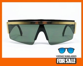 fc6857f768db Vintage sunglasses Gianni Versace Y76 col. 852 MASK made in Italy from  80s
