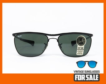 a35f20abbfb Vintage sunglasses Ray Ban OLYMPIAN II Deluxe B L made in U.S.A. 1992