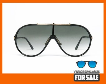 83ef801d8db2 RARE vintage sunglasses SAFILO Sporting 436-S CARBONIO col. 807 made in  Italy from  90s