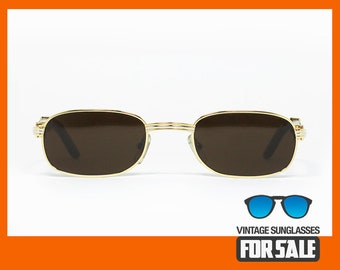 5ef255f77479 Vintage sunglasses Cartier BRETEUIL BUBINGA WOOD made in France 1994