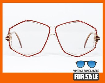 ebc138125d16 Vintage eyeglasses Cazal 165 col. 201 made in West Germany from  80s