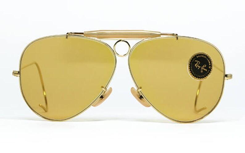 d4ba347480 Vintage sunglasses Ray Ban Shooter Ambermatic Bausch   Lomb