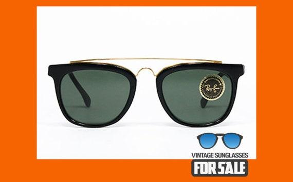 cc07795f9fa ... order rare vintage sunglasses ray ban gatsby style 5 w0936 etsy c80a7  12030