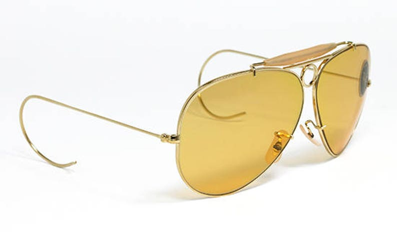4c1779d2ff Vintage sunglasses Ray Ban Shooter Ambermatic Bausch   Lomb