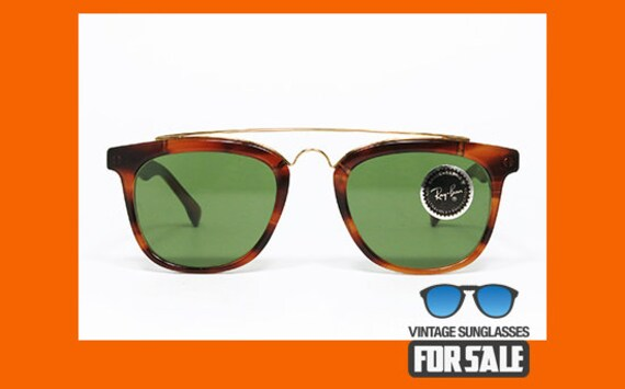 4c20c53e9f8 RARE vintage sunglasses Ray Ban GATSBY Style 5 W0937
