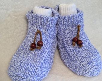 women's slippers, slipper socks, house slippers, hand knit slippers, gifts for her, girl's slippers, dorm slippers,