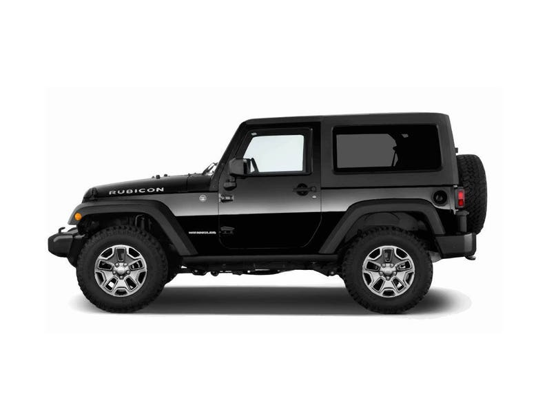 jeep wrangler rubicon black side view vector vectorized print ultra high quality Customed Jeep Wrangler Side View