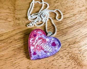 Custom Pendant, Anything you love, in glittery loveliness!