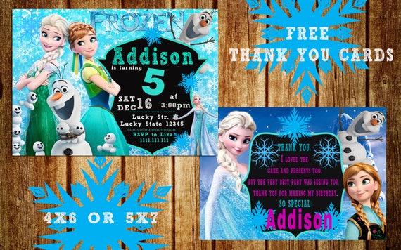 Frozen Invitation Frozen Birthday Invitation Frozen Party Invitation Frozen Printable Invitation Frozen Diy Invitation