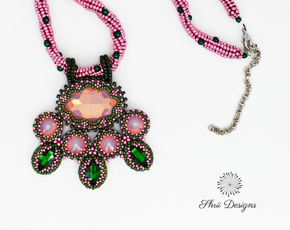 Persephone's Dream Necklace Tutorial