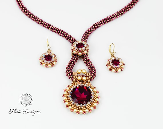 Sridhara Necklace and Earrings Supplies Kit
