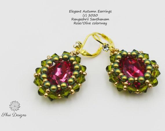 Elegant Autumn Earrings Tutorial