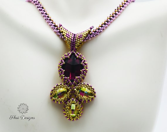 Falling Leaves Necklace Tutorial
