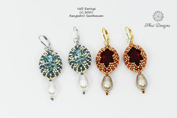 Valli Earrings Tutorial