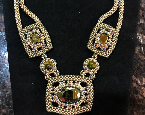 "Cleopatra""s Heirloom Necklace Tutorial"