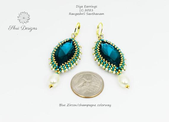 Diya Earrings Supplies Kit