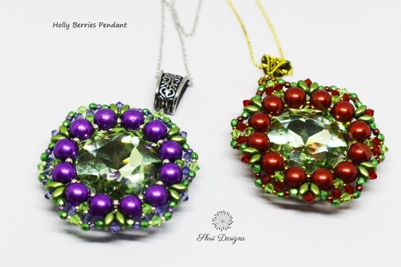 Holly Berries Pendant Kit